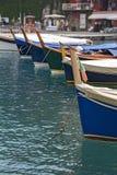 Drewniani statki w porcie, zdjęcie stock