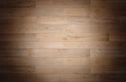 Drewniani tekstur tła, dębowego drewna podłoga winieta Zdjęcie Royalty Free