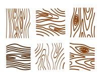 Drewniani tekstura elementy w czarny i biały obraz royalty free