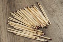 Drewniani zbawczego dopasowania kije Obraz Stock