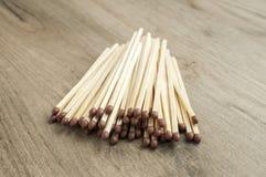 Drewniani zbawczego dopasowania kije Zdjęcie Royalty Free