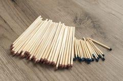 Drewniani zbawczego dopasowania kije Fotografia Stock
