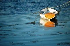drewniany łódkowaty połów Zdjęcia Stock