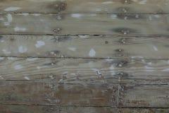 Drewniany łódkowaty tło Zdjęcie Stock