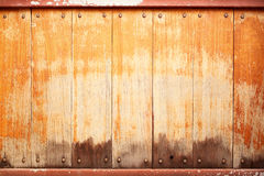 Drewniany ścienny tło Zdjęcie Royalty Free
