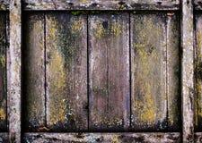 Drewniany ścienny tło Stary Drewniany tło Rocznika drewniany panel, Fotografia Stock