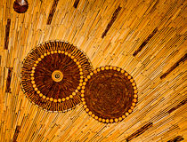 Drewniany ścienny tekstury tło Fotografia Stock
