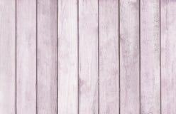 Drewniany ścienny tekstury tło, purpura kolor Obrazy Royalty Free