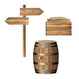 drewniany Obrazy Stock