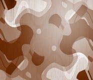 drewniany abstrakcjonistyczny artisitic tło Obraz Royalty Free