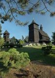 Drewniany antykwarski kościół Zdjęcia Royalty Free