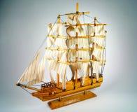 Drewniany statek Zdjęcia Royalty Free