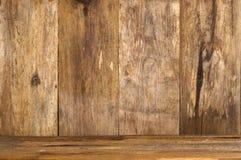 Drewniany backgound Zdjęcie Royalty Free