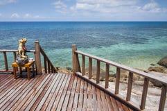 Drewniany balkon Zdjęcie Royalty Free