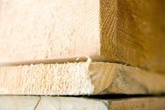 Drewniany barłogu szczegół Obraz Stock