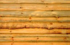Drewniany beli ogrodzenie Obrazy Stock