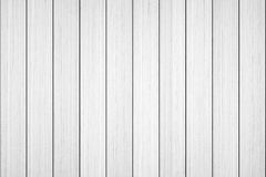 Drewniany biały deski tekstury tło Zdjęcie Stock