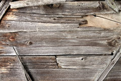 Drewniany billboard rama/ Fotografia Stock
