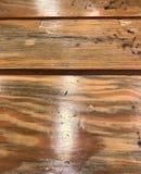 Drewniany biurko Obraz Stock