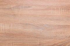 Drewniany biurko jako tekstura z naturalnym drewno wzorem Obrazy Stock