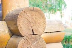 Drewniany blokhauz Zdjęcia Royalty Free