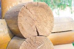 Drewniany blokhauz Zdjęcie Stock