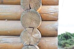 Drewniany blokhauz Zdjęcia Stock