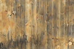 Drewniany brown płaski tekstury tło obraz stock