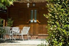 Drewniany bungalow Zdjęcie Royalty Free
