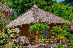 Drewniany bungalowu kurort w ko phi phi wyspie, Tajlandia Fotografia Royalty Free