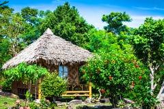 Drewniany bungalowu kurort w ko phi phi wyspie, Tajlandia Obraz Stock