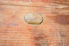 Drewniany burl gnarl redwood brązu sosnową deskę Fotografia Royalty Free