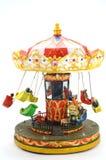 Drewniany carousel boże narodzenia Fotografia Royalty Free
