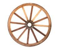 Drewniany cartwheel zdjęcie stock