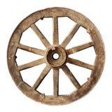 Drewniany cartwheel zdjęcie royalty free