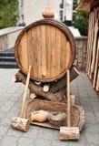 Drewniany cask3 Fotografia Stock