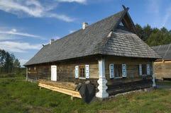 Drewniany chałupa dom zdjęcia royalty free
