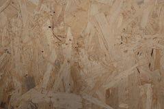 Drewniany chipboard tło Zdjęcia Stock
