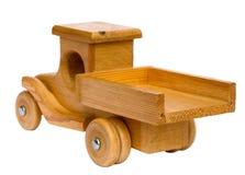 Drewniany ciężarowy odjeżdżanie Zdjęcia Stock