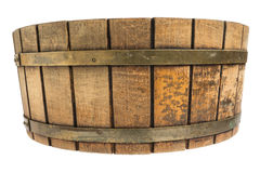 Drewniany ciasto puchar Obraz Stock