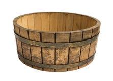 Drewniany ciasto puchar Zdjęcie Stock