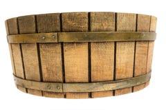 Drewniany ciasto puchar Obraz Royalty Free