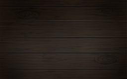 Drewniany ciemnego brązu tło z drewnianymi tekstur deskami, tło szablon dla twój projekta, sztandar, plakat lub kartka z pozdrowi Obraz Royalty Free