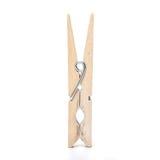 Drewniany clothespin Zdjęcia Royalty Free
