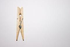 Drewniany clothespin Obraz Stock