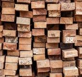 drewniany cunstruction dla budowy dom zdjęcia royalty free