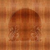 Drewniany cyzelowanie Zdjęcia Royalty Free