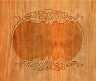 Drewniany cyzelowanie Zdjęcie Stock
