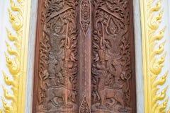 Drewniany cyzelowanie obrazy royalty free