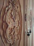 Drewniany cyzelowanie zdjęcie royalty free